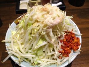 郎郎郎の野菜増し