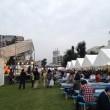 オクフェスのステージとテント