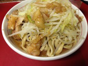 蓮爾の極太麺二郎系インスパイア