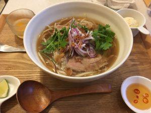 牛スープのベトナムフォーセット